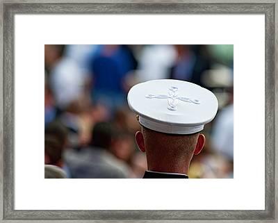 Military Hats Framed Print by Dan McManus