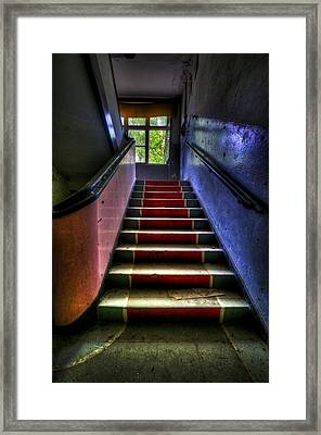 Military Steps Framed Print by Nathan Wright