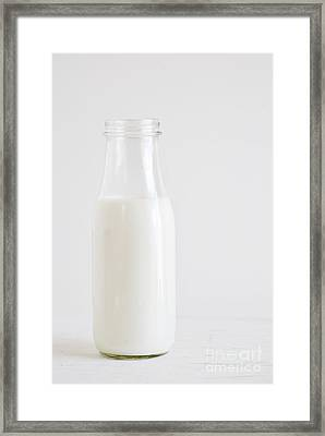 Milk Framed Print by HD Connelly