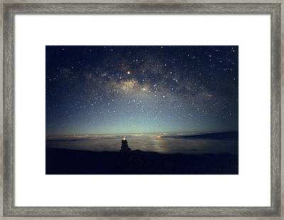 Milky Way Framed Print by Magrath Photography