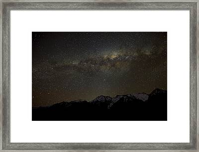 Milky Way Framed Print by Ng Hock How