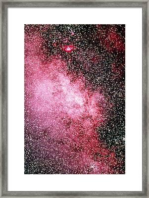 Milky Way Starfield Framed Print by Dr Juerg Alean