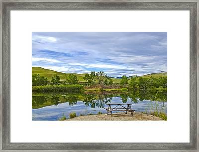 Mill Pond Framed Print