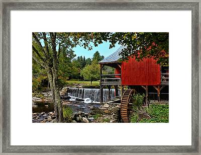 Mill Work  Framed Print by Lanis Rossi