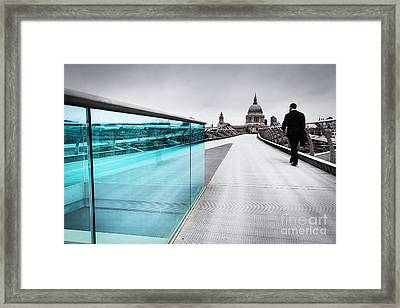Millenium Commuter Framed Print by Martin Williams