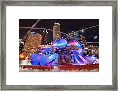 Framed Print featuring the photograph Millennium Park by Sebastian Musial