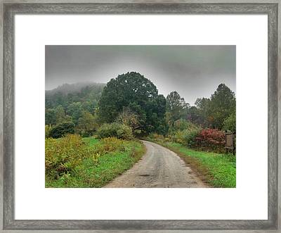 Framed Print featuring the photograph Mills Ridge by Janice Spivey