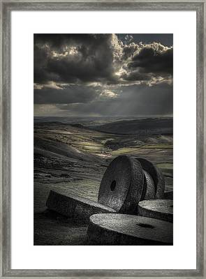 Millstones Framed Print by Andy Astbury