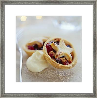 Mince Pies Framed Print by David Munns