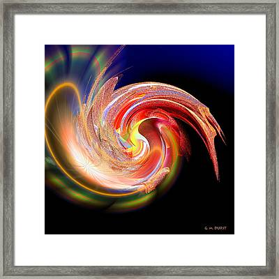 Mind Expanding Framed Print by Michael Durst