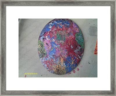Mind Flick Framed Print by Jennie  Bailey