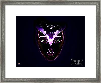 Mind Horsepower Framed Print by Vidka Art