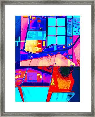 Mindmap 1b Framed Print by Randall Weidner