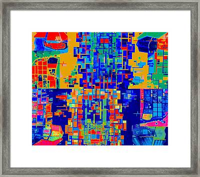Mindmap 3a Framed Print by Randall Weidner