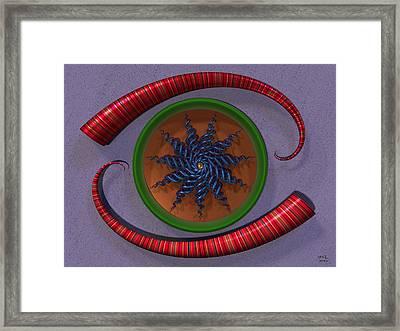 Mind's Eye II Framed Print by Manny Lorenzo