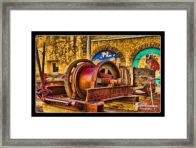 Mine Machinery Framed Print