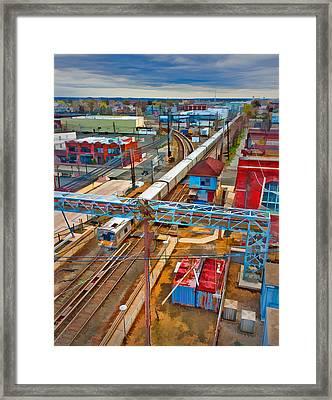 Mineola Framed Print by Steve Zimic