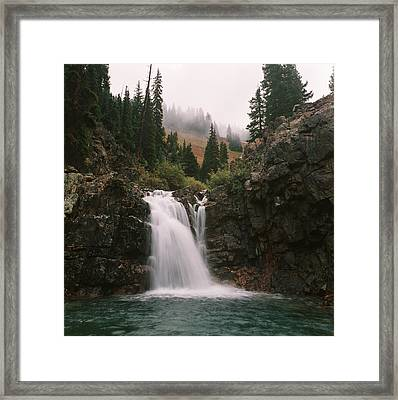 Mineral Water Framed Print