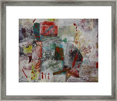 Minerals Framed Print by Lee Canalizo