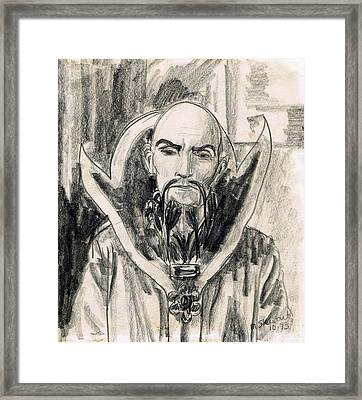 Ming The Merciless Framed Print by Mel Thompson