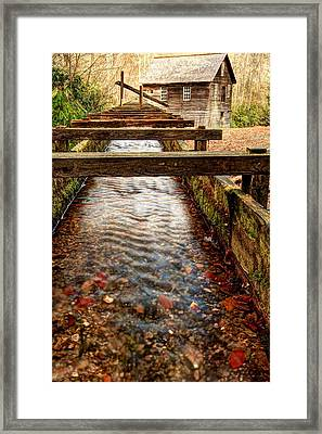Framed Print featuring the photograph Mingus Mill by Doug McPherson
