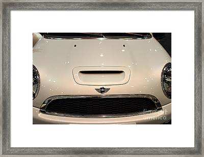 Mini Cooper . 7d9525 Framed Print by Wingsdomain Art and Photography