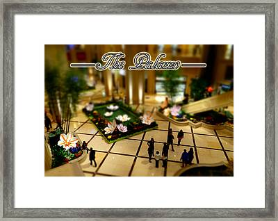 Mini Palazzo Framed Print by Michael Wilcox