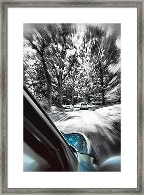 Mini Warp Framed Print