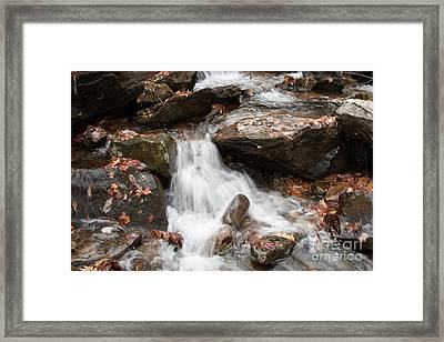 Mini Waterfall Framed Print by Michael Waters