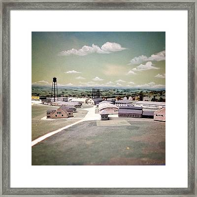 Miniature Arial View Framed Print
