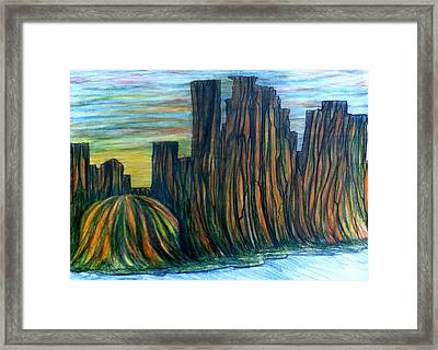 Minne Valley Framed Print by Richard  Hubal