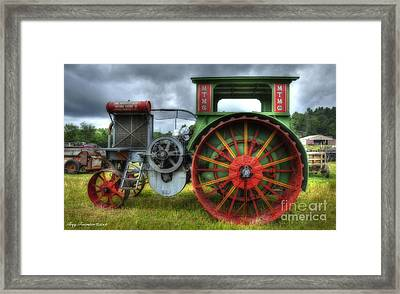 Framed Print featuring the photograph Minneapolis Threshing Machine Co. by Trey Foerster