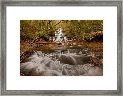 Minnehaha Falls Ga Framed Print