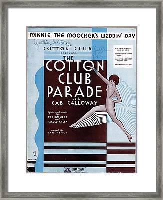 Minnie The Moocher's Weddin' Day Framed Print by Mel Thompson