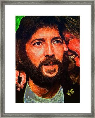 Minstrel And Muse Framed Print by Che Rellom