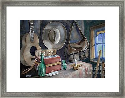 Minstrels Retreat Framed Print