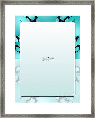 Mint Back Framed Print