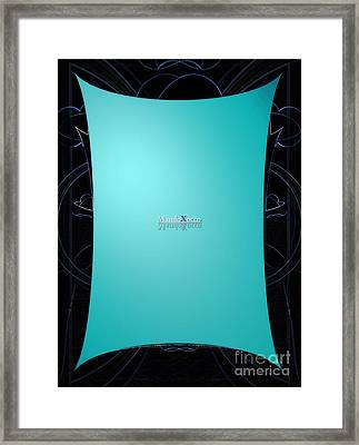 Mint Side Framed Print