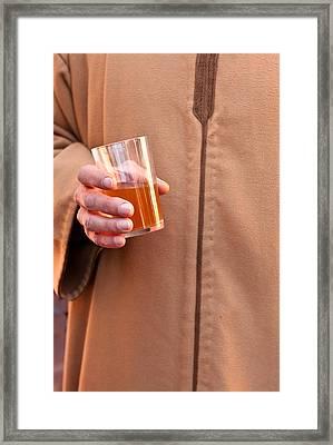 Mint Tea Framed Print by Tom Gowanlock