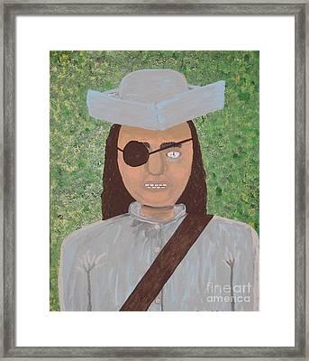 Minute Man Framed Print by Gregory Davis