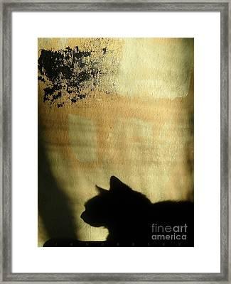 Mips Sur Borduas Framed Print
