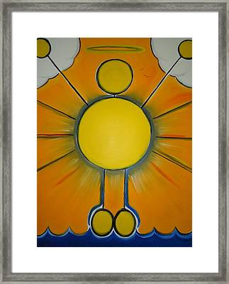 Miracle - Any Amazing Or Wonderful Occurrence. Framed Print by Cory Green