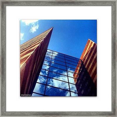Mirror Image Framed Print