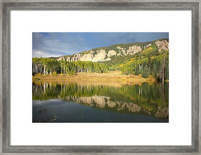 Mirror Lake  Framed Print