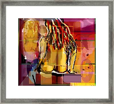 Mirror Mirror Framed Print by DC Campbell