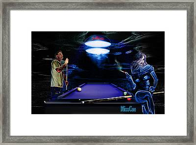 Miscued Framed Print by Draw Shots