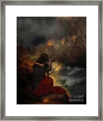 Miserere Framed Print by Lianne Schneider