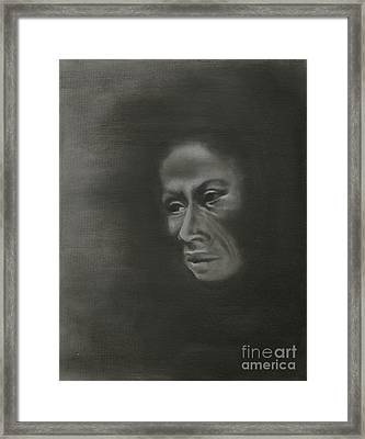 Misery Framed Print by Annemeet Hasidi- van der Leij