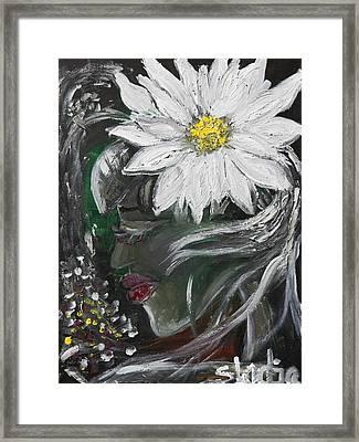 Miss Daisy Framed Print by Sladjana Lazarevic