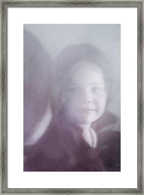 Miss Nn Framed Print by Jenny Rainbow